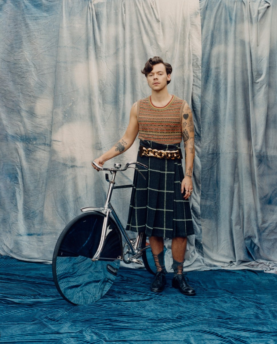 Harry Styles for Vogue December 2020