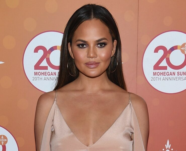 Chrissy Teigen Mohegan Sun's 20th Anniversary Ballroom Red Carpet After Party