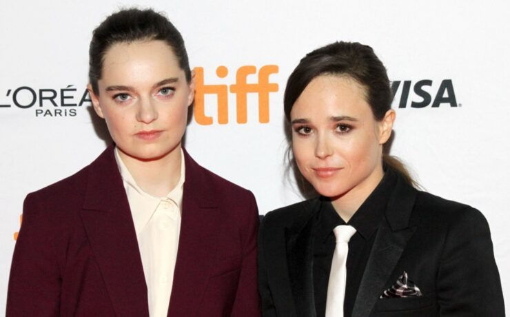 "Elliot Page and Emma Portner 2017 Toronto International Film Festival - ""The Cured"" Premiere"