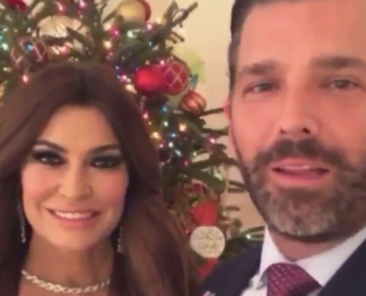 Kimberly Guilfoyle and Donald Trump Jr