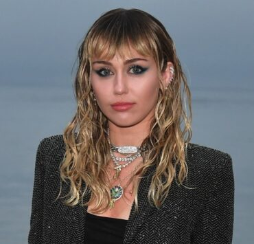 Miley Cyrus Saint Laurent Mens Spring Summer 20 Show - Photo Call
