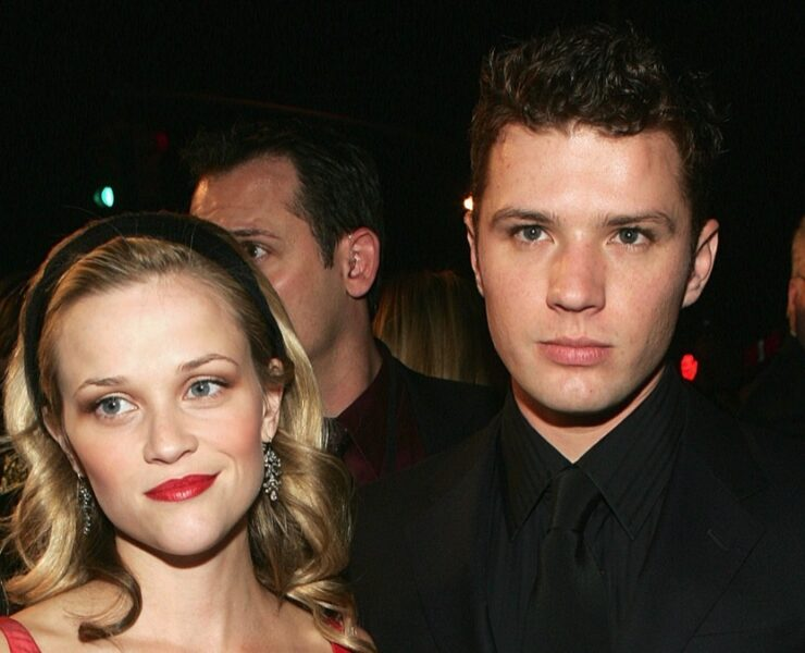 "Reese Witherspoon and Ryan Phillippe20th Century Fox Premiere Of ""Walk The Line"""