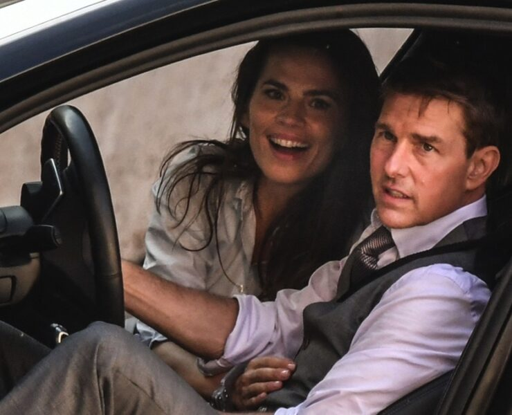 Tom Cruise and actress Hayley Atwell