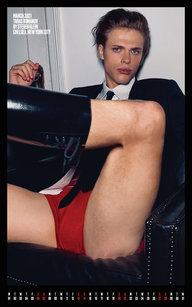 Taras Romanov for V MAN Photo credit: V Man/Steven Klein