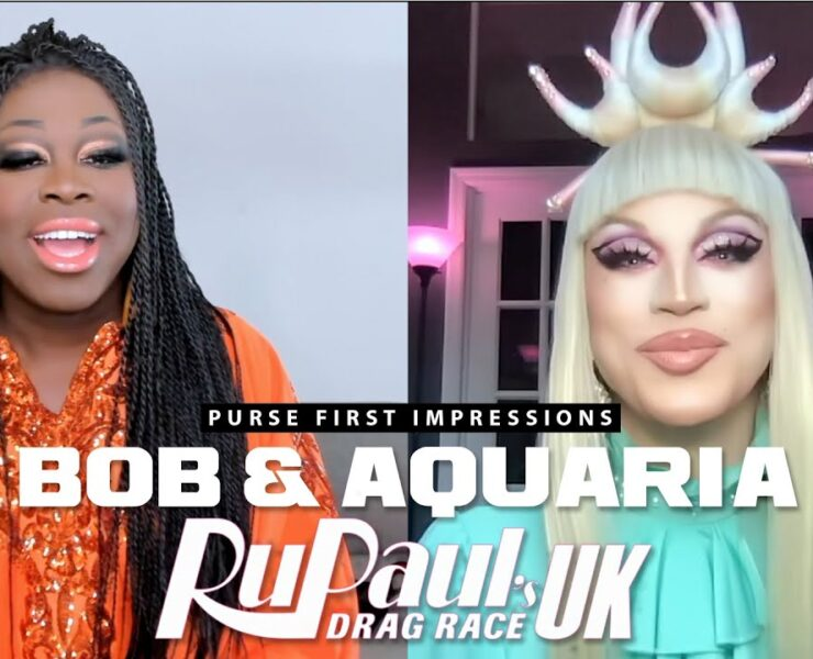 Bob the Drag Queen and Aquaria