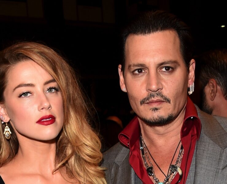 "Amber Heard and Johnny Depp 2015 Toronto International Film Festival - ""Black Mass"" Premiere - Arrivals"