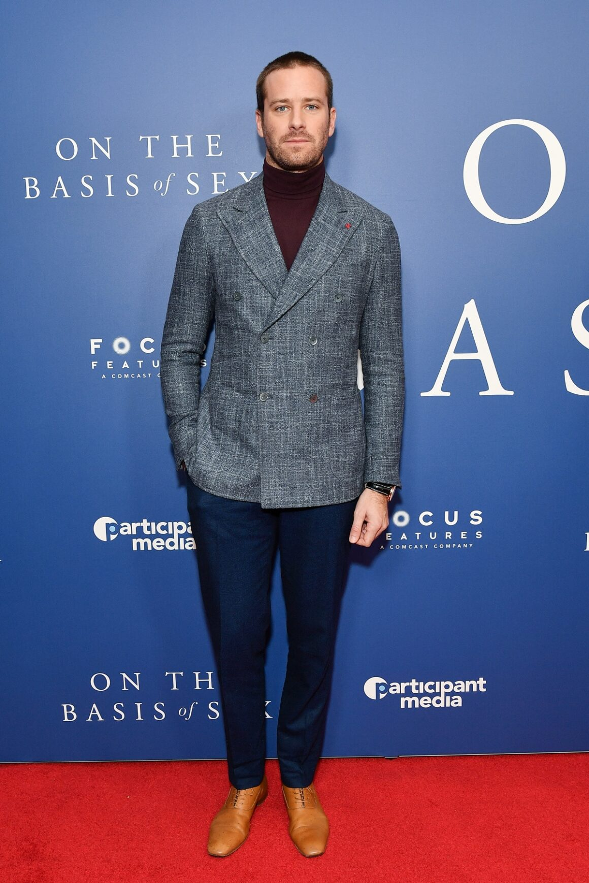 """Armie Hammer """"On The Basis Of Sex"""" New York City Screening"""