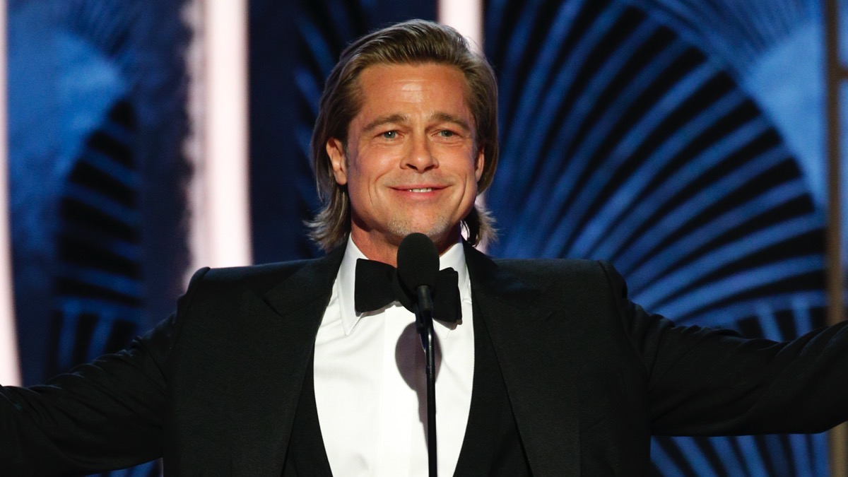 "Brad Pitt NBC's ""77th Annual Golden Globe Awards"" - Show"