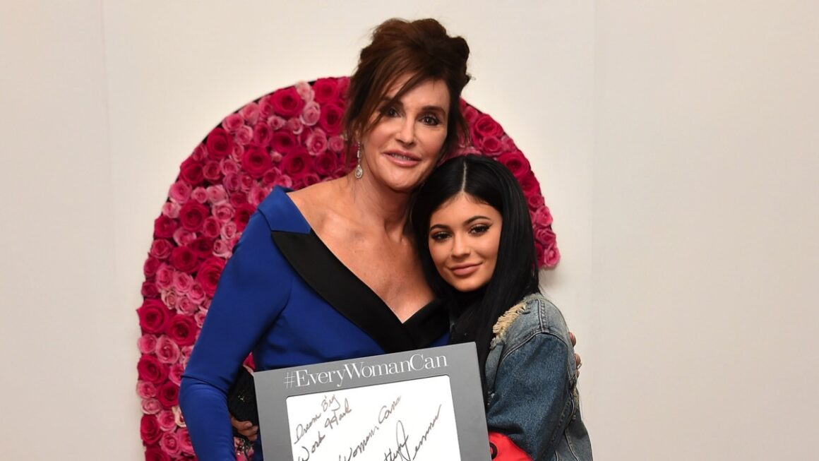 Caitlyn Jenner and Kylie Jenner 2015 Glamour Women Of The Year Awards - Backstage