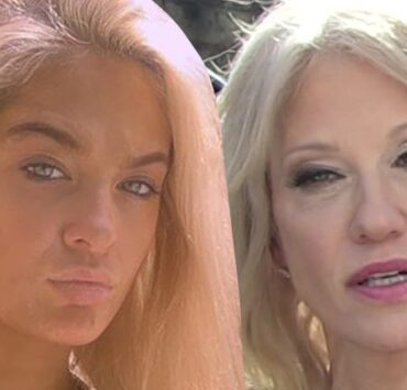 Kellyanne Conway and Claudia Conway
