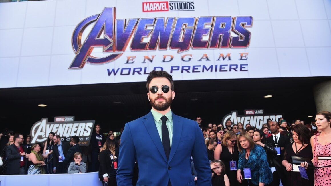 "Chris Evans Los Angeles World Premiere Of Marvel Studios' ""Avengers: Endgame"""