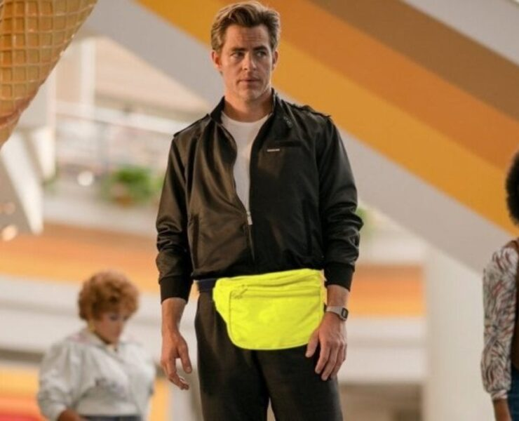 Chris Pine truly loved is Wonder Woman 1984 fanny pack