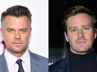 Josh Duhamel and Armie Hammer