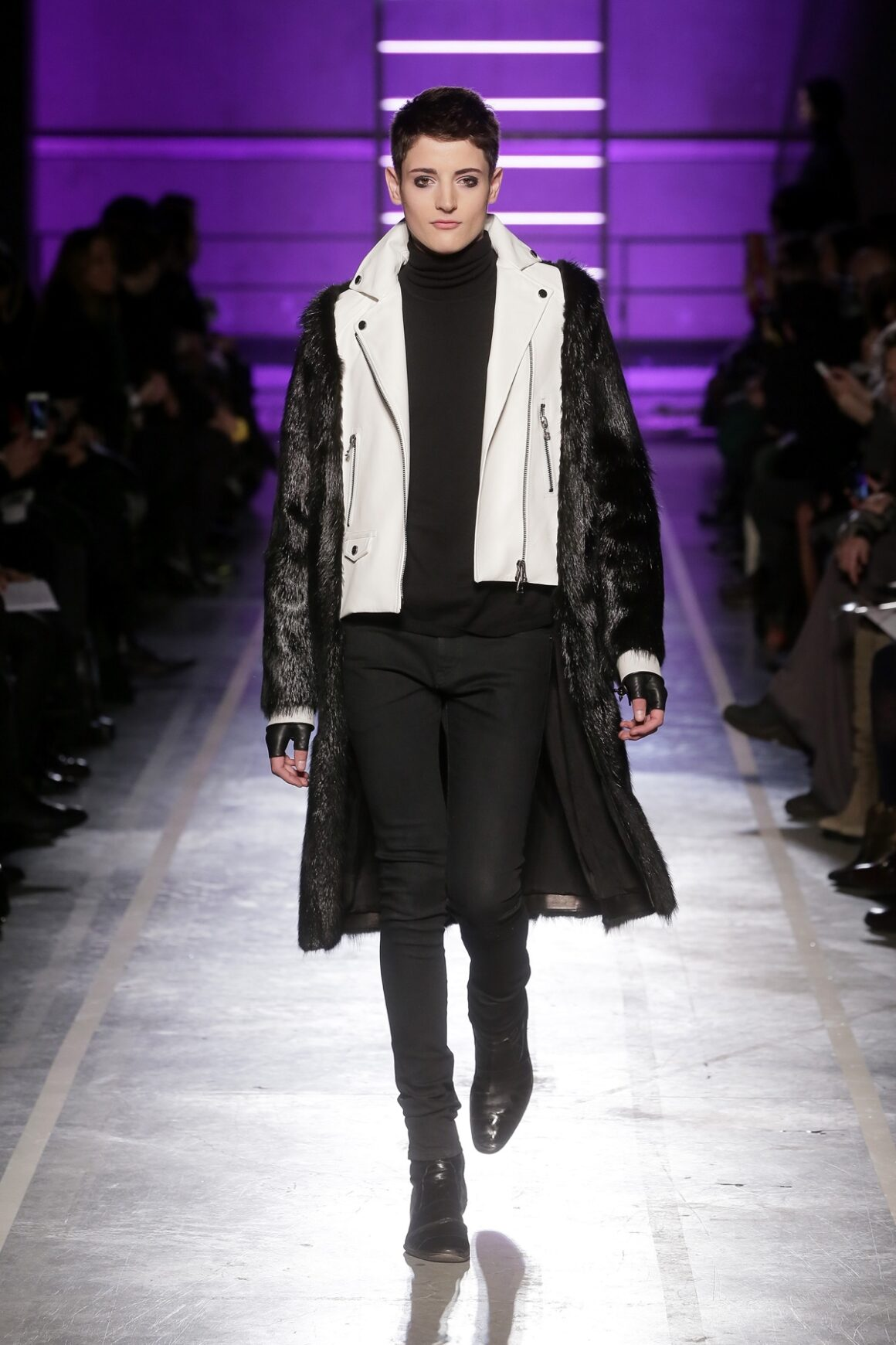 Harry Brant IRFE : Runway - Paris Fashion Week Womenswear Fall/Winter 2014-2015