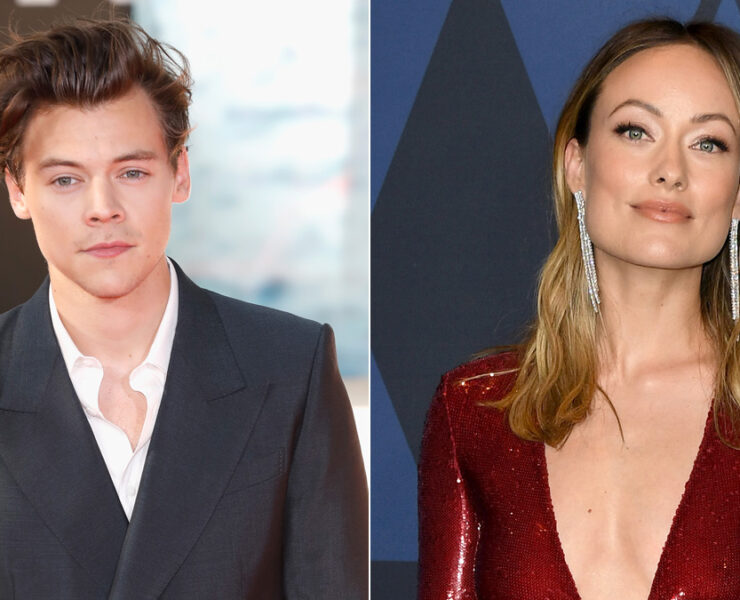 Harry Styles and Olivia Wilde