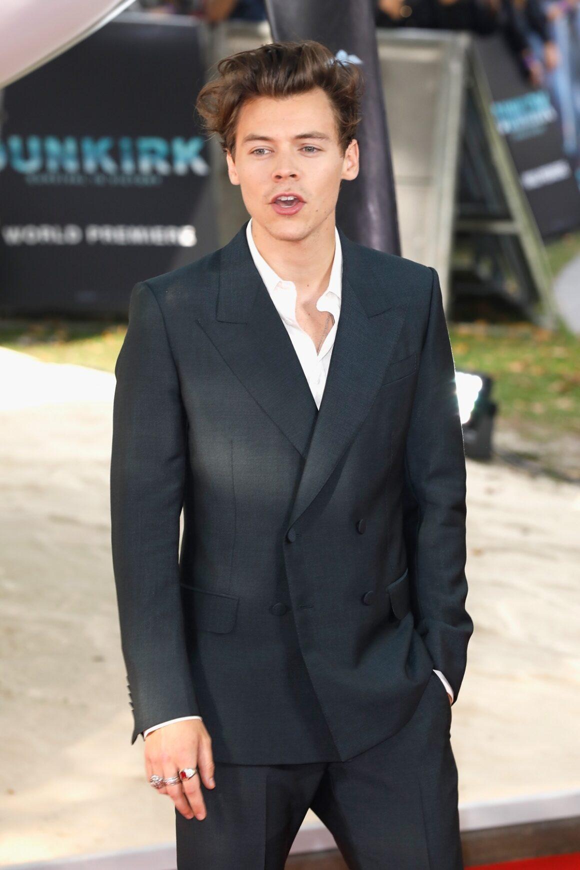 Harry Styles 'Dunkirk' World Premiere - Red Carpet Arrivals