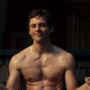 a shirtless James Marsden