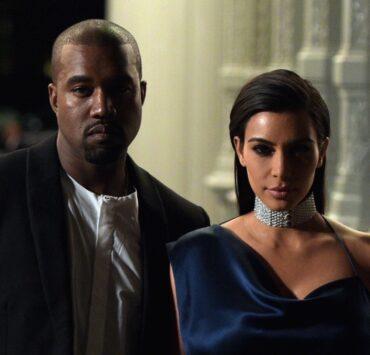 Kim Kardashian and Kanye West 2014 LACMA Art + Film Gala Honoring Barbara Kruger And Quentin Tarantino Presented By Gucci - Red Carpet