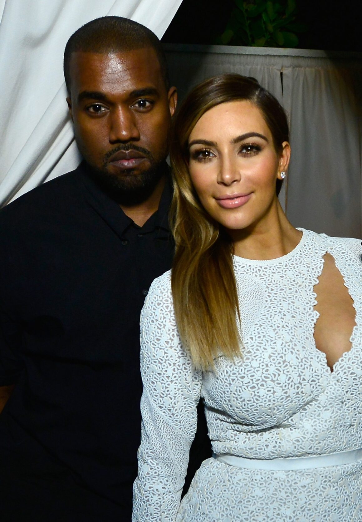 "Kim Kardashian and Kanye West ""DuJour Magazine's Haley & Jason Binn Host Dee & Tommy Hilfiger, Tony Shafrazi To Honor Artist Marc Quinn With Special Guest DJ Atlanta de Cadenet Taylor"""