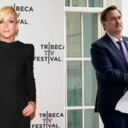 Jane Krakowski and Mike Lindell