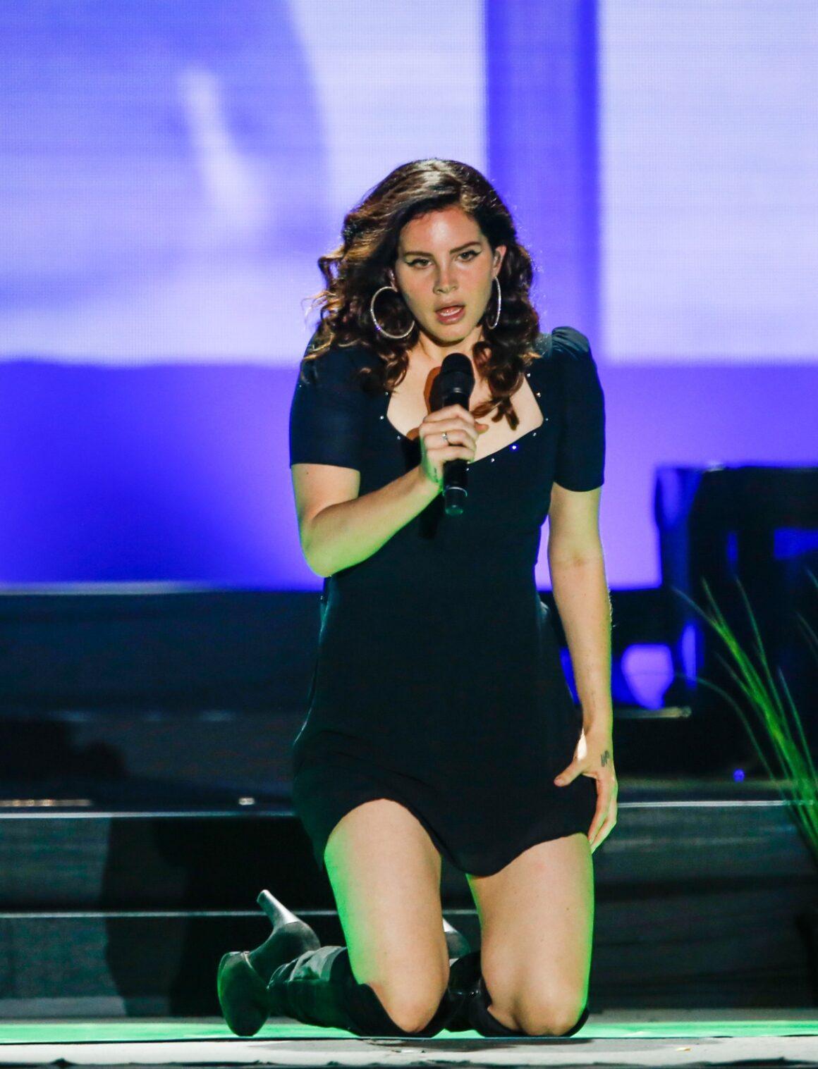 Lana Del Rey Lollapalooza Sao Paulo 2018 - Day 3