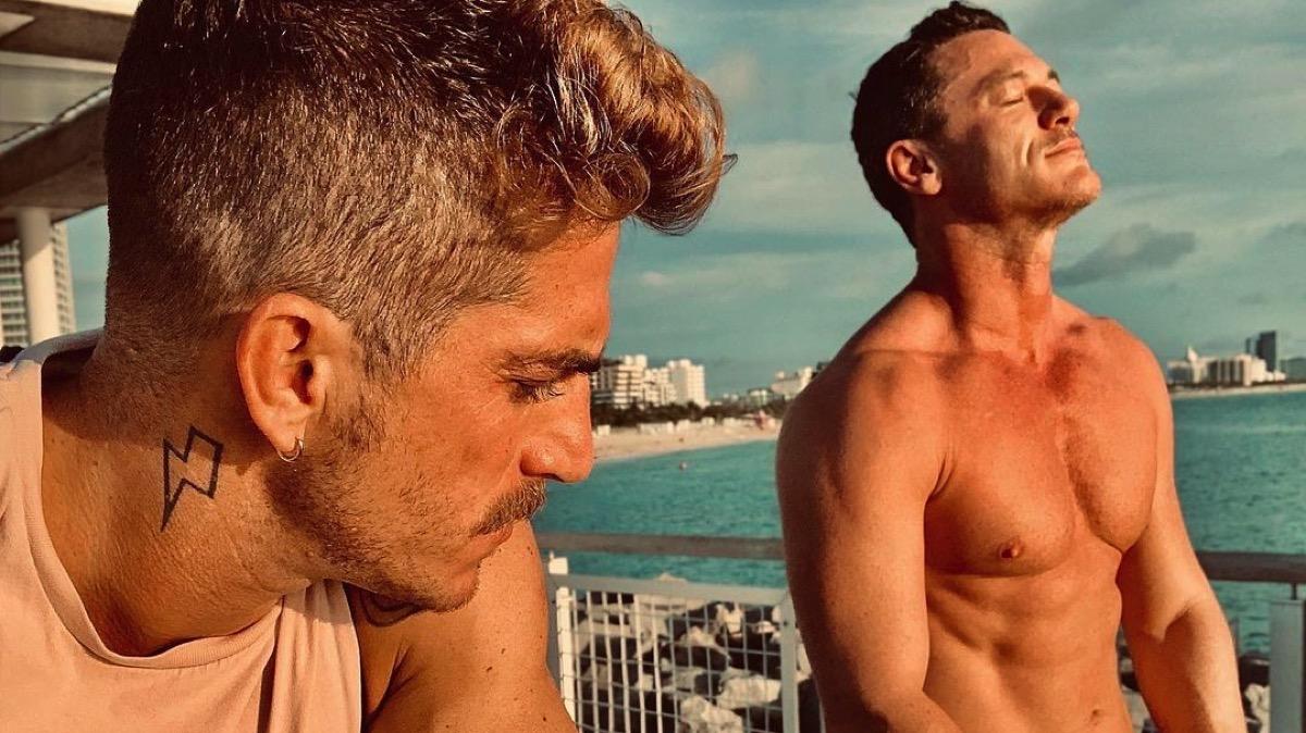Luke Evans confirms split from boyfriend Rafael Olarra