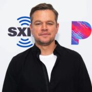 Matt Damon Visits The SiriusXM Hollywood Studios in Los Angeles