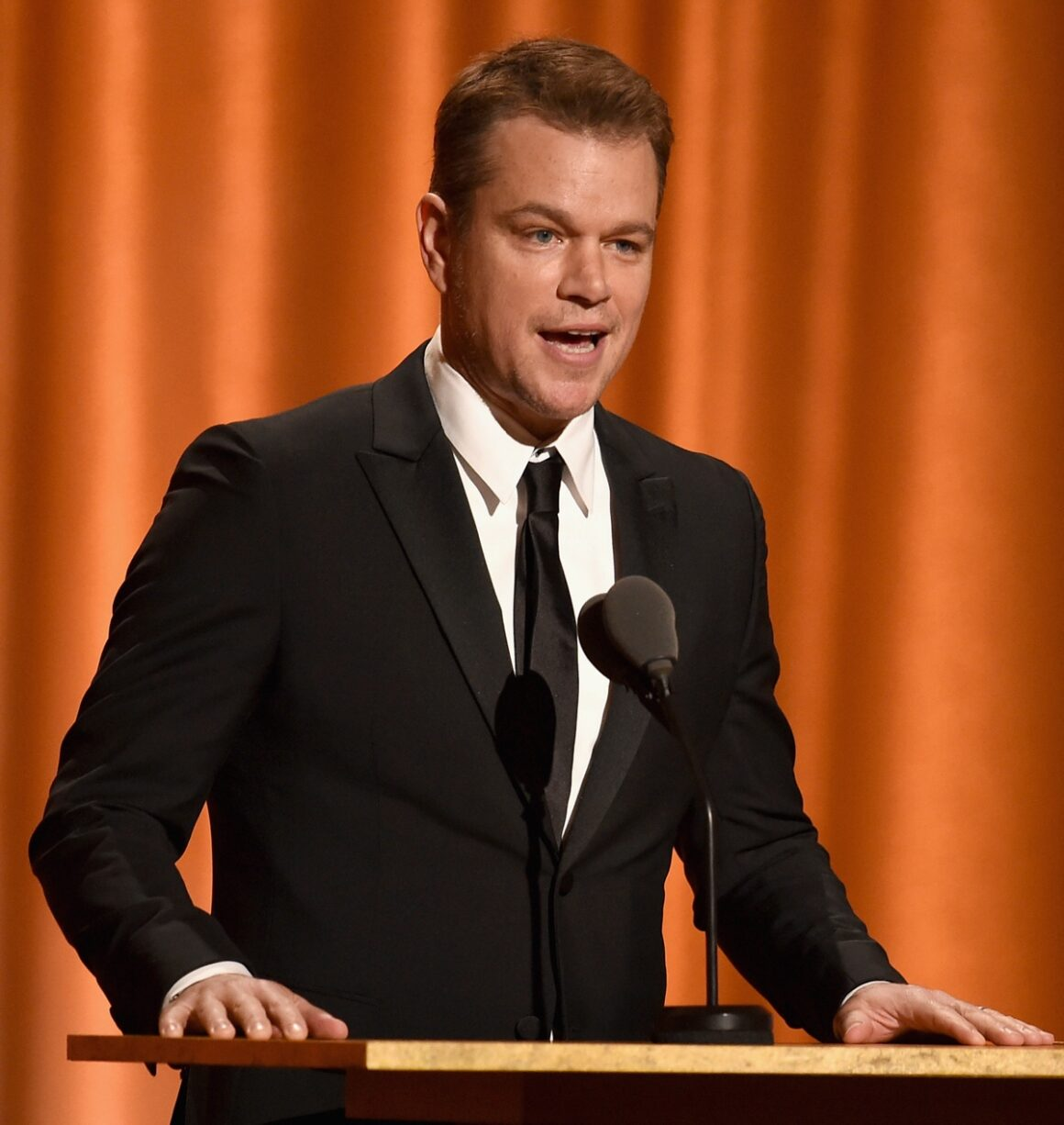 Matt Damon Academy Of Motion Picture Arts And Sciences' 10th Annual Governors Awards - Show