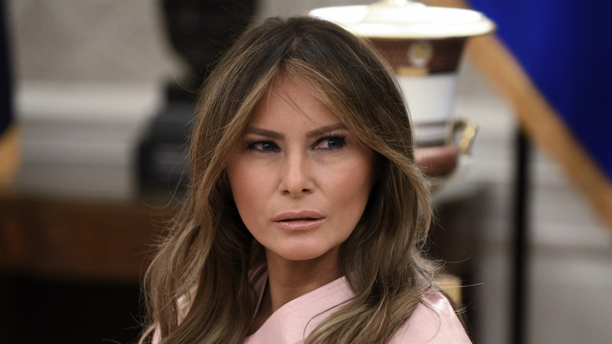 Melania Trump President Trump Welcomes King Abdullah And Queen Rania Of Jordan To White House