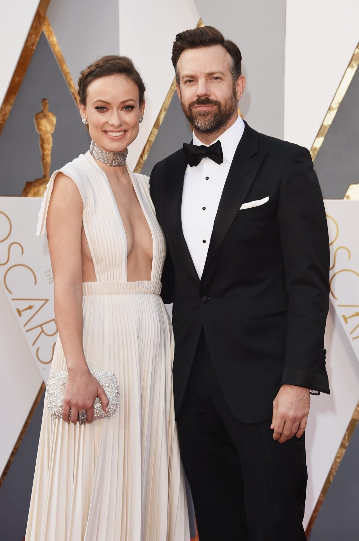 Olivia Wilde and Jason Sudeikis 88th Annual Academy Awards - Arrivals