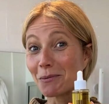 Gwyneth Paltrow Goop face oil video