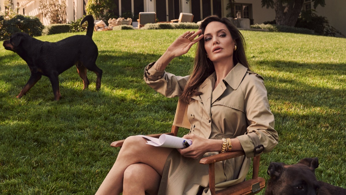 Angelina Jolie Is Selling Winston Churchill's Painting & It's Worth Millions