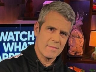 Andy Cohen rocks Brooks Marks