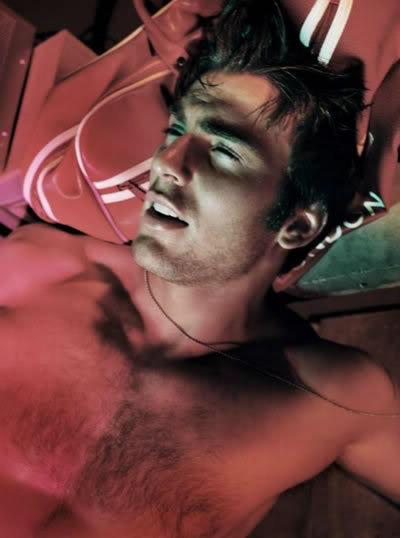 Chris Evans Shirtless