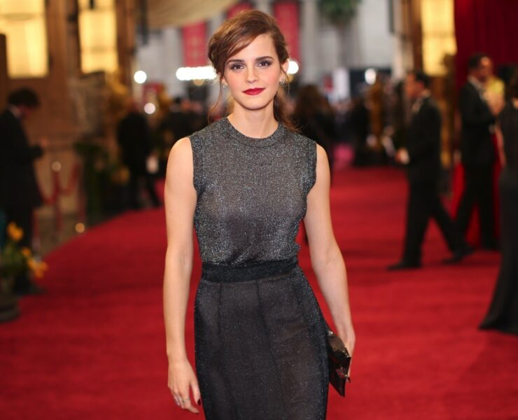 Emma Watson 86th Annual Academy Awards - Red Carpet