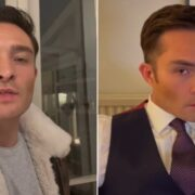 Ed Westwick revives Gossip Girl Chuck Bass character for TikTok video