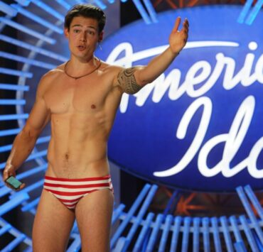 Mario Adrion aka Speedo Guy on American Idol