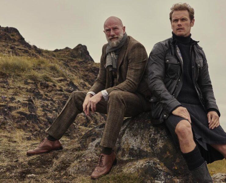 Men in Kilts starring Sam Heughan and Graham McTavish