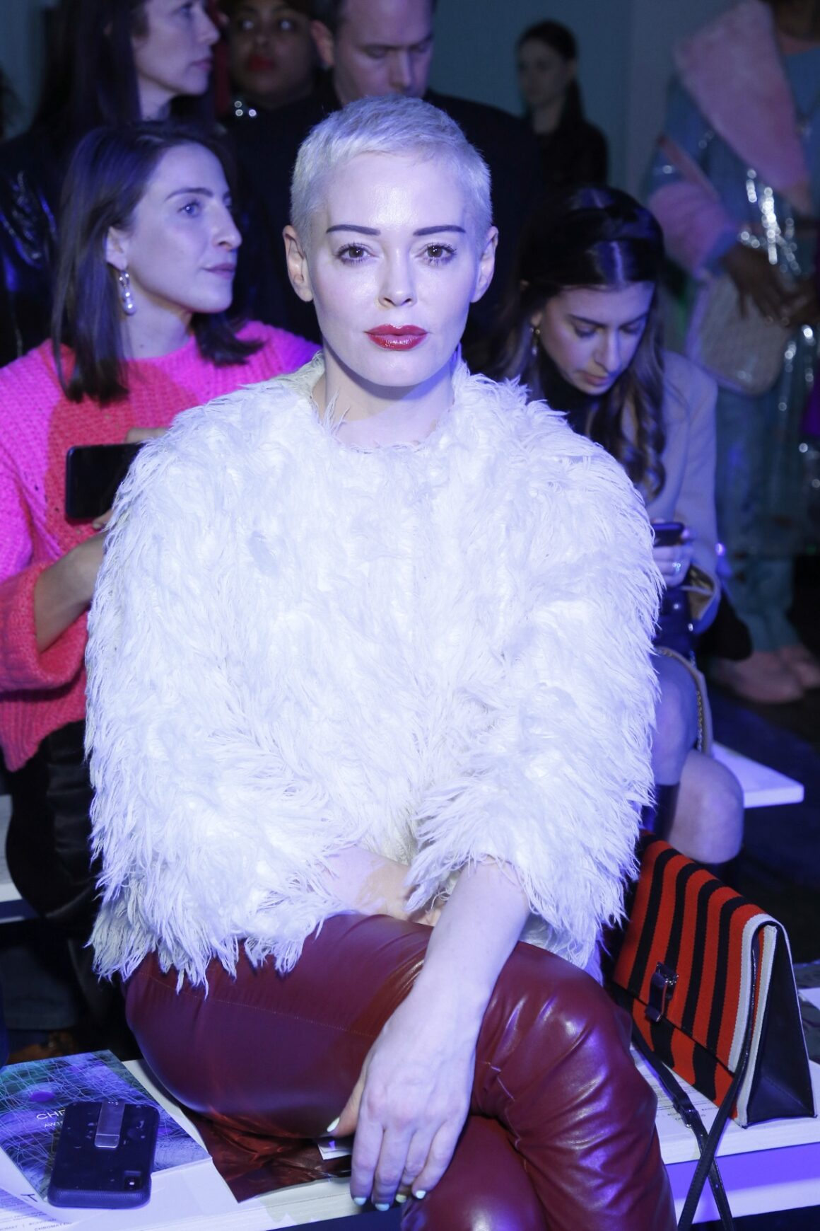 Rose McGowan Chromat - Front Row - February 2019 - New York Fashion Week: The Shows