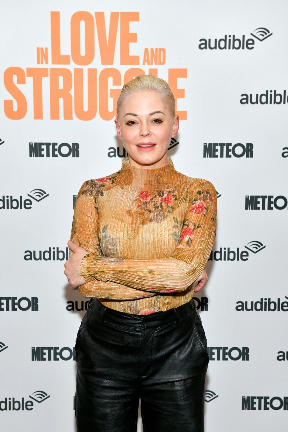 """Rose McGowan Audible Presents: """"In Love And Struggle"""" At The Minetta Lane Theatre – February 29"""
