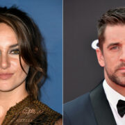 Shailene Woodley and Aaron Rodgers