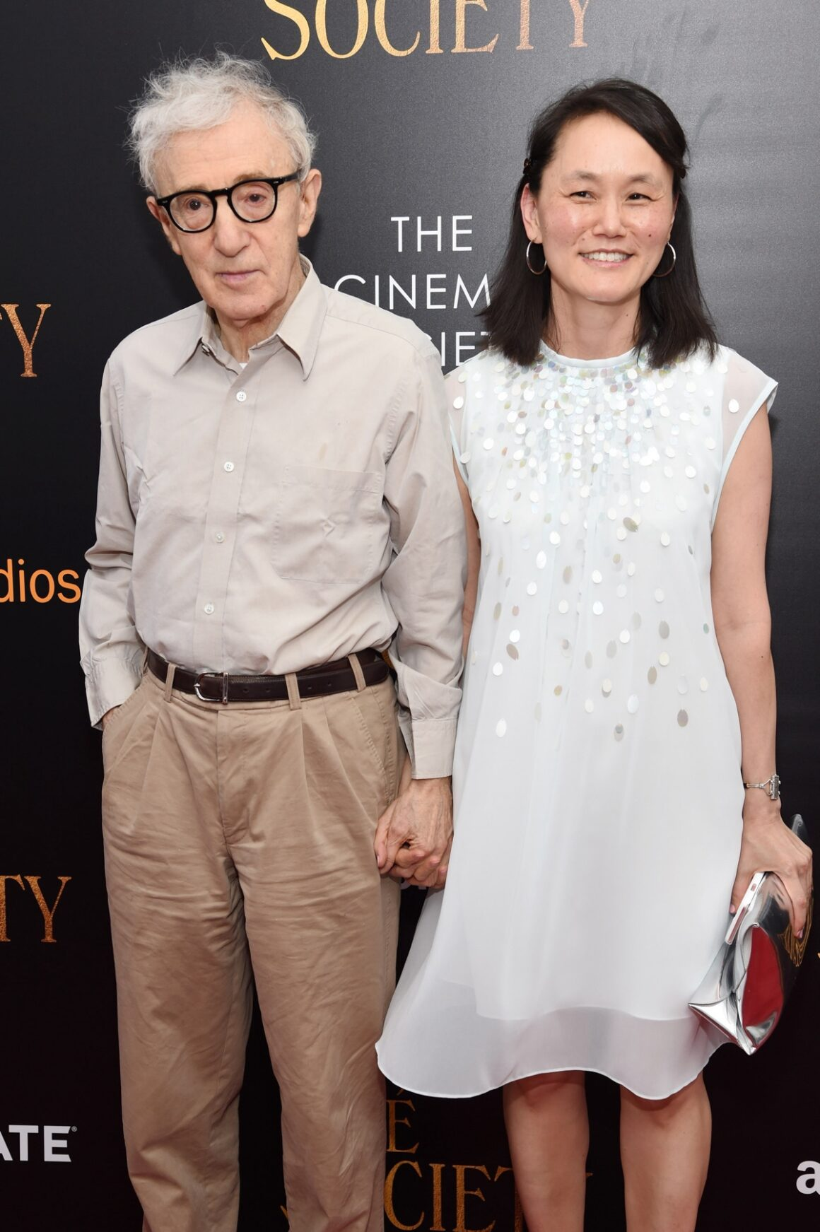 "Woody Allen and Soon Yi Previn Amazon & Lionsgate With The Cinema Society Host The New York Premiere Of ""Cafe Society"" - Arrivals"