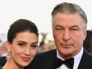 Alec Baldwin and Hilaria Baldwin 25th Annual Screen Actors Guild Awards - Red Carpet