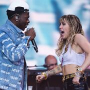 Miley Cyrus and Lil Nas X Glastonbury Festival 2019 - Day Five