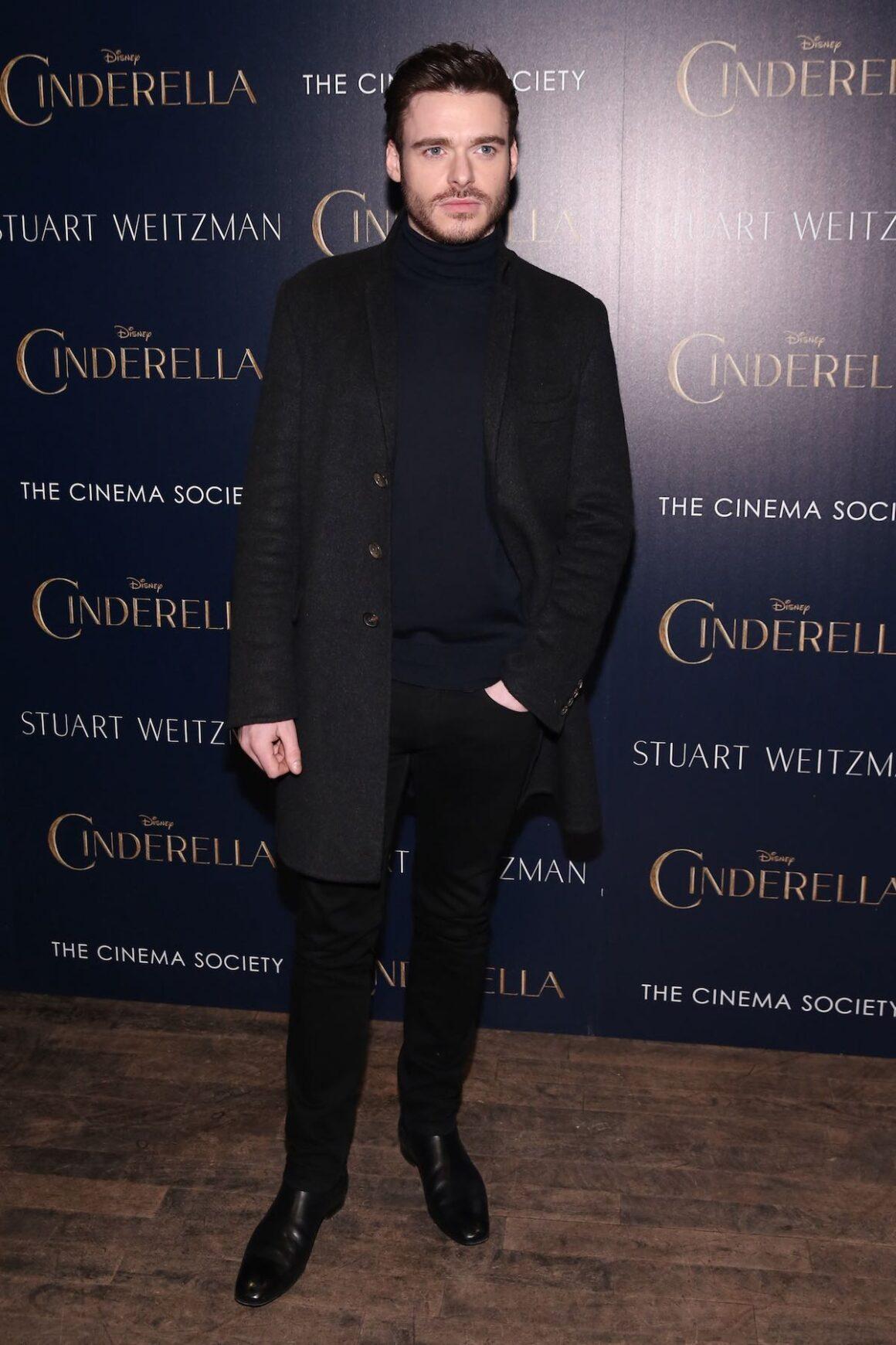 "Richard Madden The Cinema Society And Stuart Weitzman Host A Special Screening Of Disney's ""Cinderella"""